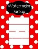 Guided Reading Groups (Polka Dot)