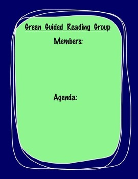 Guided Reading Groups Posters
