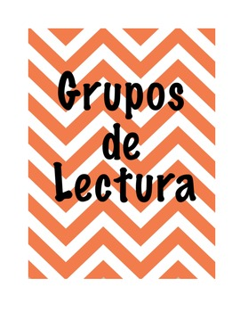 Guided Reading Groups- Spanish, Disney Themed