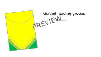 Guided Reading Groups (editable)