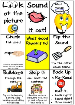 Guided Reading Guide & Reading Strategy Card