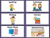 Guided Reading, Guided Math, Learning Group labels