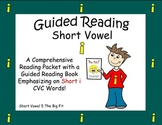 Guided Reading, Guided Reading Strategies, Guided Reading Book 5 Short i Vowel