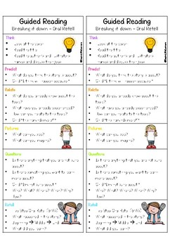 Guided Reading Prompt Cards #LuckyDeals