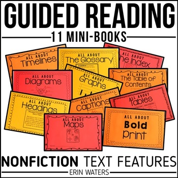 picture relating to Printable Nonfiction Articles With Text Features named Guided Reading through Authorities: Nonfiction Words and phrases Characteristics Printable Mini-Guides
