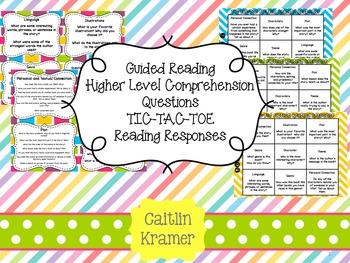 Guided Reading Higher Level... by Caitlin Kramer | Teachers Pay ...