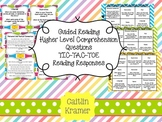 Guided Reading Higher Level Comprehension Prompts (Fountas