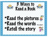 Guided Reading: How to Read a Book Poster