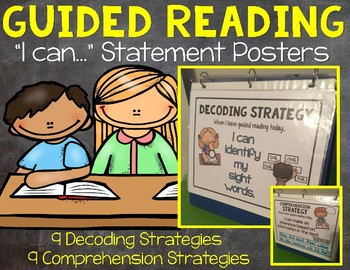 Guided Reading I can Statement Posters