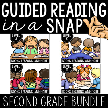 Guided Reading In a Snap (Levels J, K,L, and M)