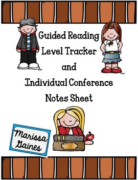 Guided Reading Individual Progress Tracker and Conference Notes