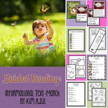 Guided Reading - Informational Text - March by Kim Adsit