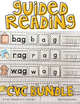 Guided Reading Interactive Journal // Part 3: CVC Words