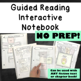 Guided Reading Interactive Notebook - Fiction