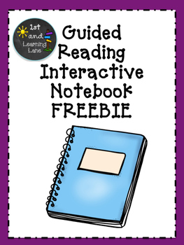 Guided Reading Interactive Notebooks FREEBIE