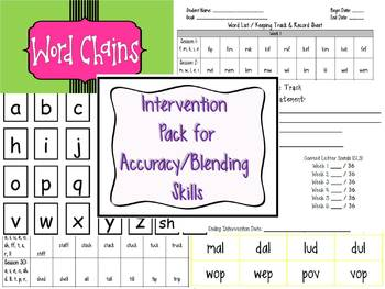 Guided Reading / Interventions Early Readers: Word Work Skill builders
