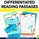 1st Grade Reading Passages for Guided Reading - January