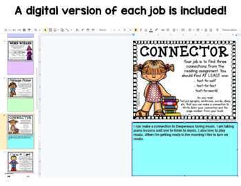 Guided Reading Job Cards and Posters