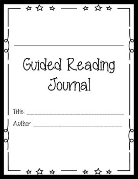 Guided Reading Journal
