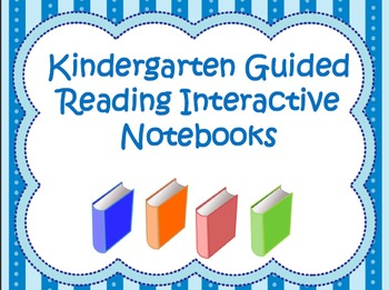 Interactive Guided Reading Journal For Kindergarten