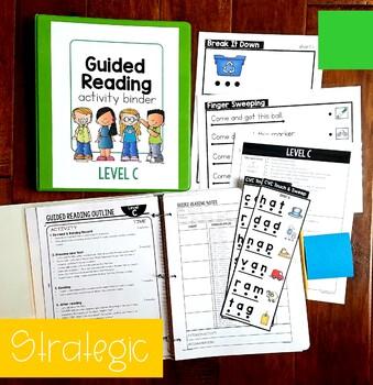 Guided Reading KINDERGARTEN BUNDLE Levels A-E