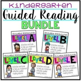 Guided Reading KINDERGARTEN BUNDLE Levels A-E