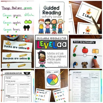 Guided Reading ~ LEVEL AA