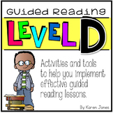 Guided Reading ~ LEVEL D