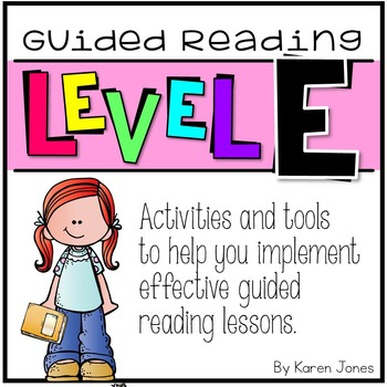 Guided Reading ~ LEVEL E