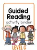 Guided Reading ~ LEVEL G