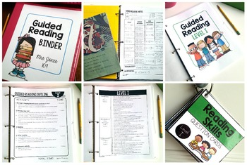 Guided Reading ~ LEVEL I