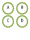 Guided Reading Labels - Green