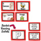 Editable Library Labels ~ Red