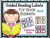 Guided Reading Labels for Book Baskets