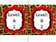 Guided Reading Labels for text sets