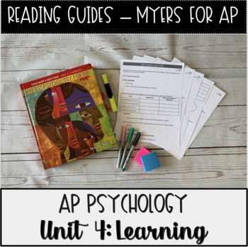 Guided Reading: Learning Unit Myers' Psychology for AP