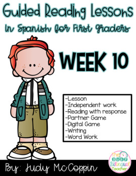 Guided Reading Lesson 10 in Spanish