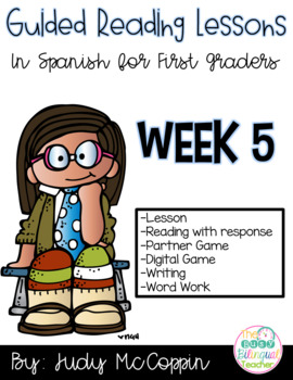 Guided Reading Lesson 5 in Spanish
