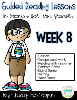 Guided Reading Lesson 8 in Spanish