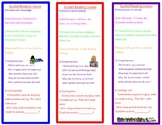 Guided Reading Lesson Cheatsheet Bookmark
