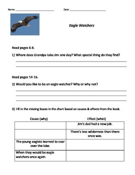 Guided Reading Lesson-Eagle Watchers
