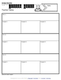 Guided Reading Lesson Notes