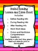 Guided Reading Lesson Outline & Idea Sheet