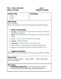 Guided Reading Lesson Plan A Color of His Own