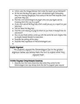 Guided Reading Lesson Plan: A Fantastic Field Trip