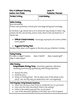 Guided Reading Lesson Plan BUNDLE Level M