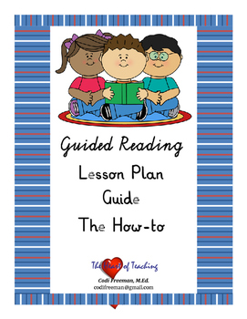 Guided Reading Lesson Plan Guide