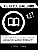 Guided Reading Lesson Plan Kit