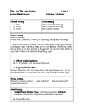 Guided Reading Lesson Plan Leo The Late Bloomer