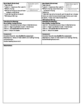 Guided Reading Lesson Plan - (Level J) Lana and Miguel's Park